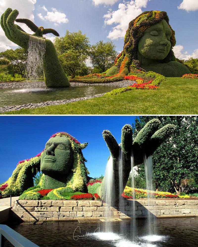 """""""Мать-Земля"""", Монреаль, Канада город, достопримечательность, интересное, мир, подборка, страна, фонтан, фото"""