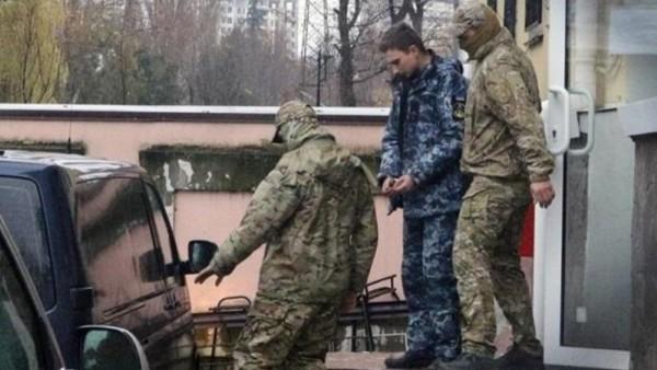 Задержанные в Крыму СБУшники…