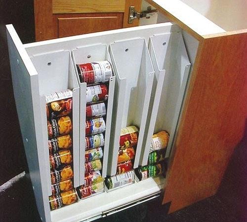 Хранение консервных банок