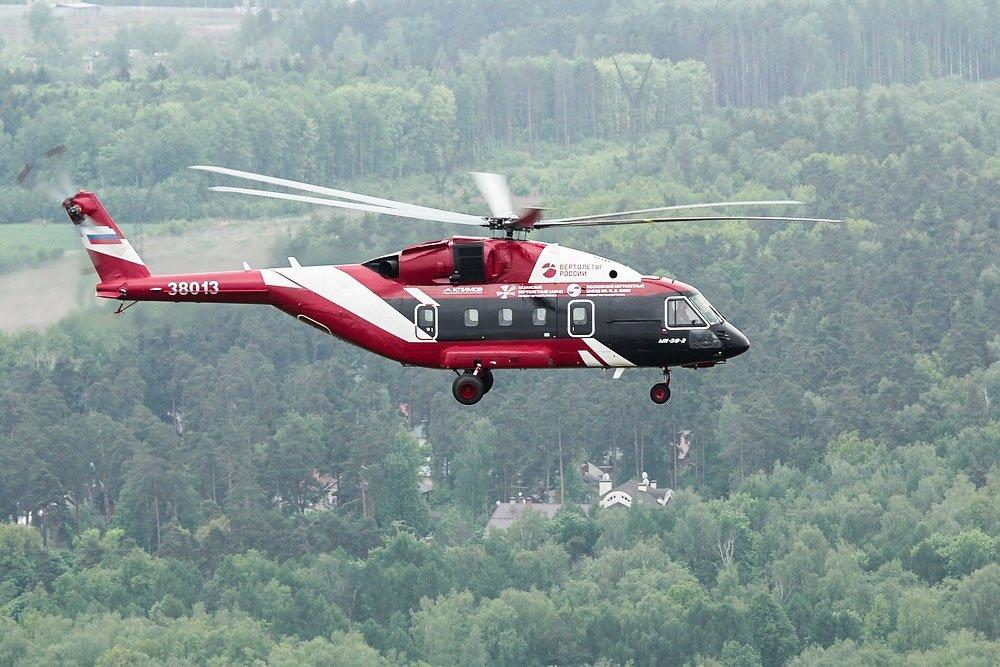 «Вертолеты России» запустили производство Ми-38Т для Минобороны России