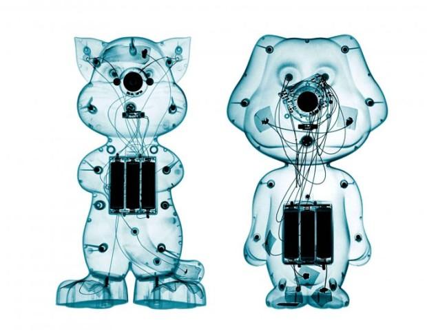 Рентгеновские снимки игрушек