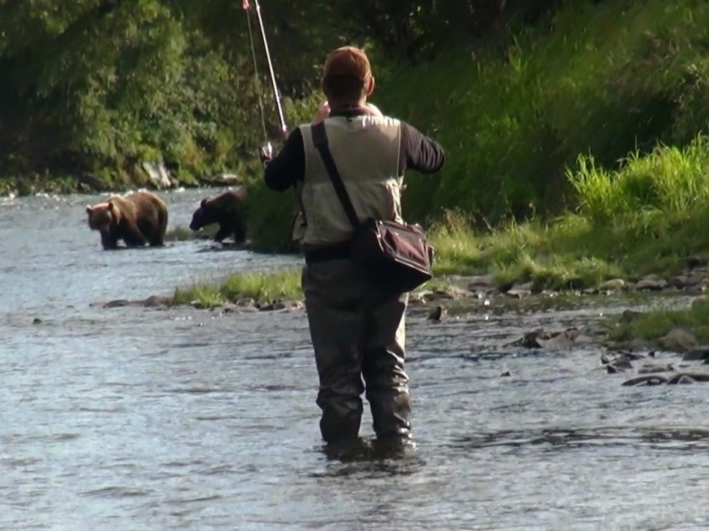 рыбалка на камчатке в августе