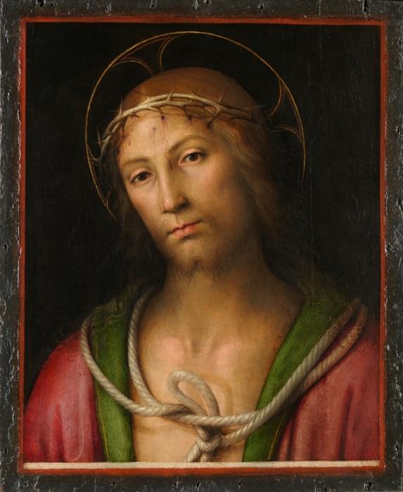 Перуджино.Христос в терновом венце. ЛНГ