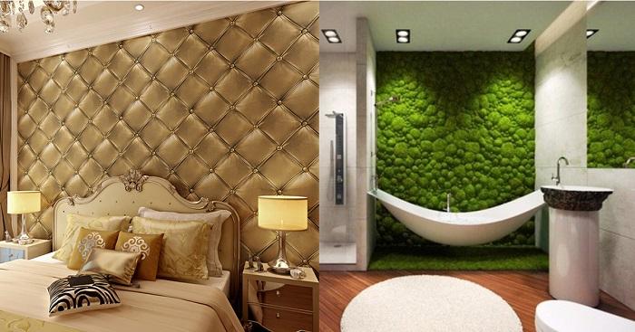 5 потрясающих идей декорирования стен, которые позволят создать действительно эксклюзивный интерьер