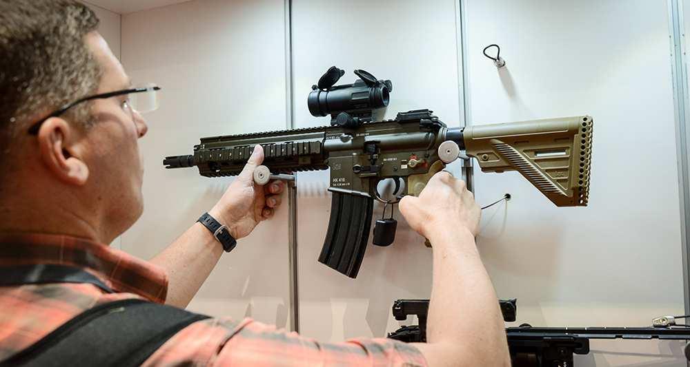 Винтовка Heckler & Koch HK416 названа победителем тендера французской армии