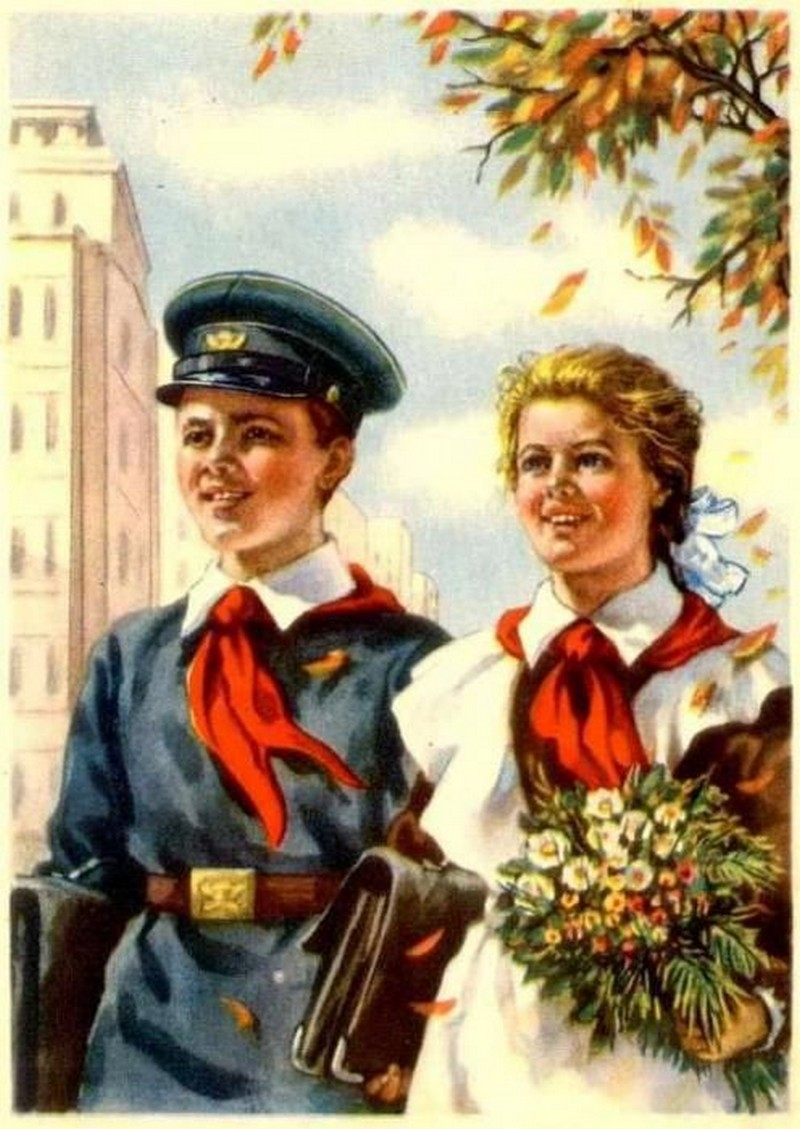 Во что одевались советские школьники