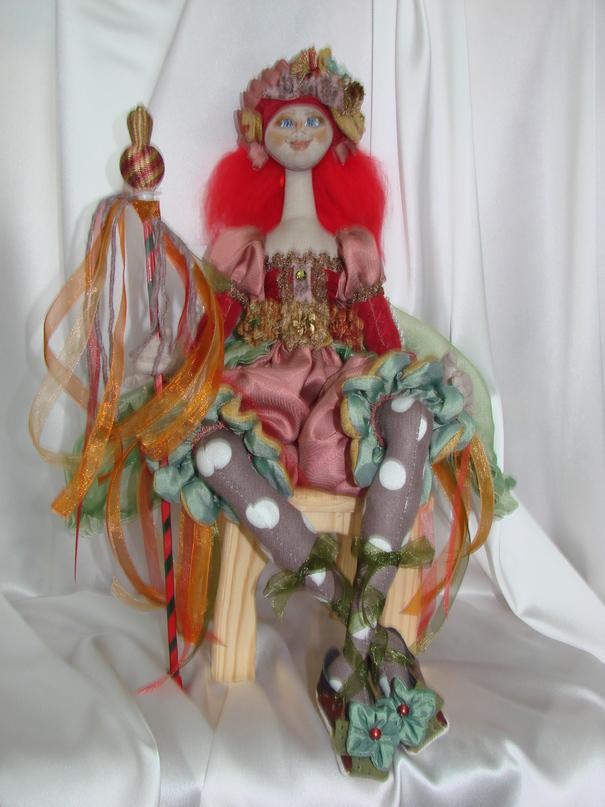Как сделать скульптурную куклу