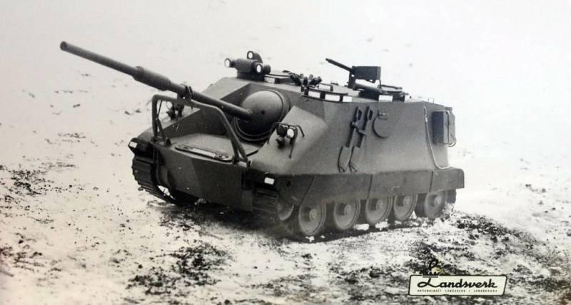 Проекты самоходных артиллерийских установок Ikv 65 (Швеция)