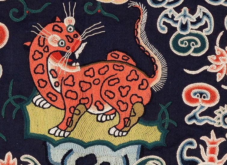 Китайская вышивка пекинским швом или китайские узелки