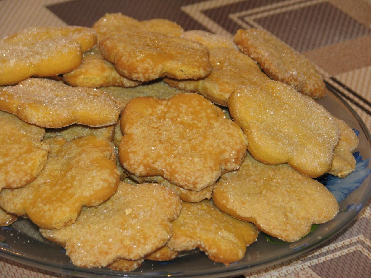 Печенье из кукурузной муки