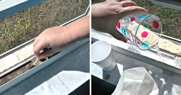 Научись быстро мыть окна с этим простым трюком. Всего пару движений и чистота гарантирована