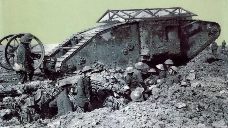 Танки в боях Великой войны
