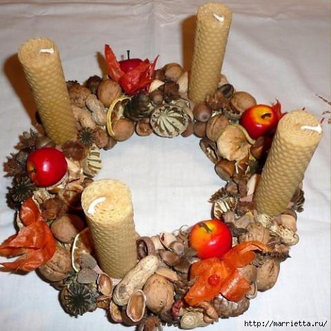 рождественский венок из грецких орехов (6) (480x480, 161Kb)