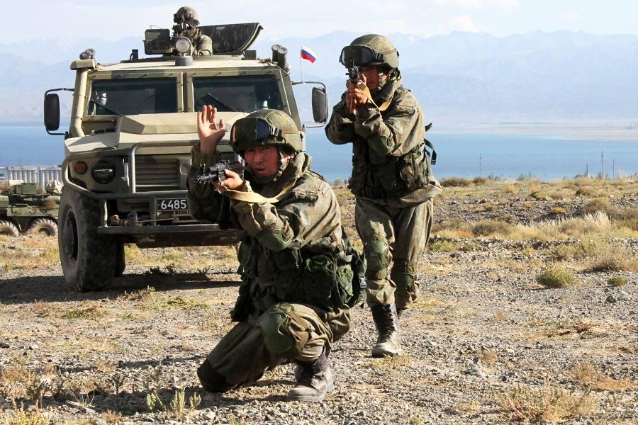 """55-я отдельная мотострелковая (горная) бригада на учениях """"Мирная миссия-2016"""""""