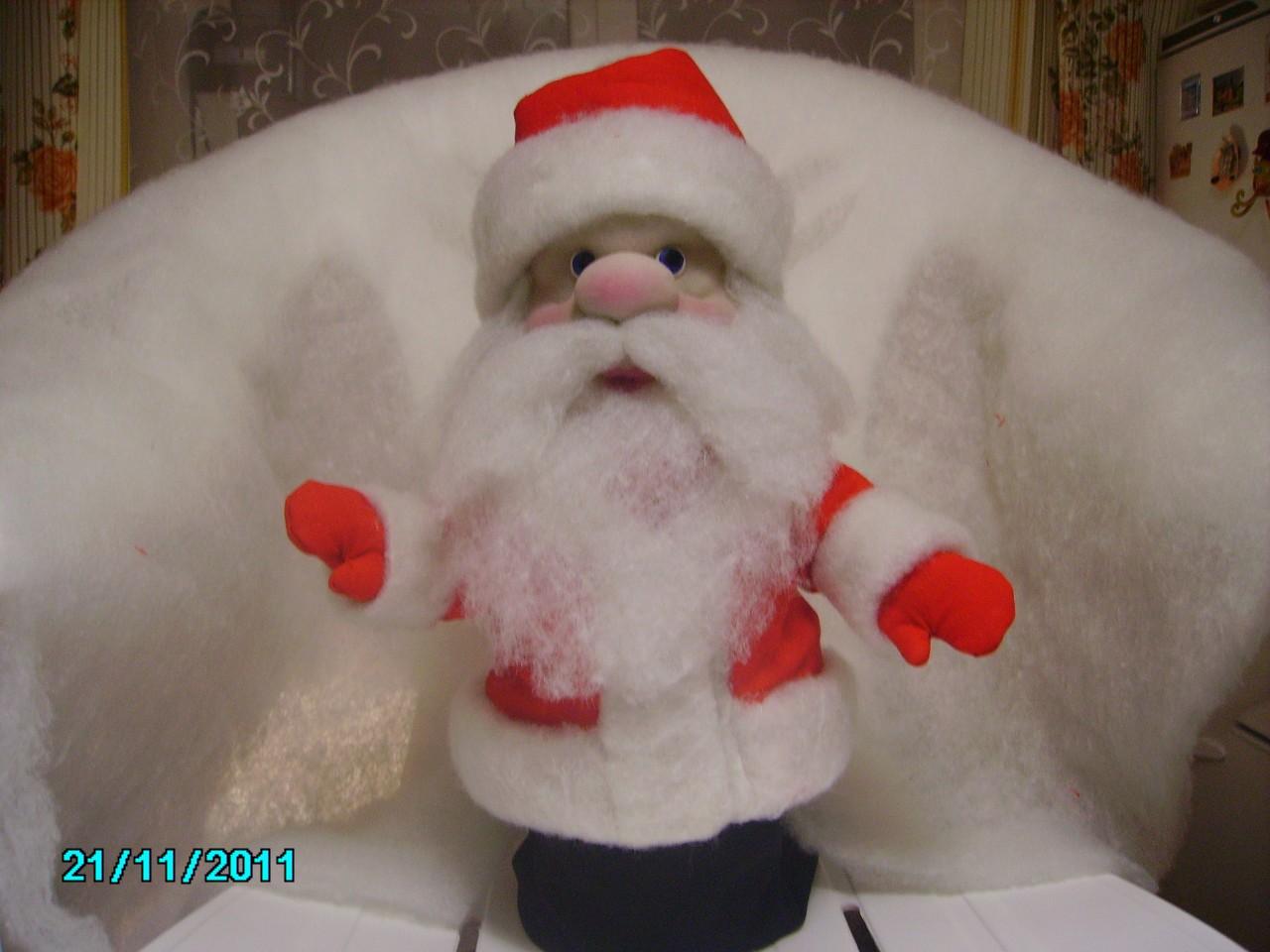 Дед мороз своими руками фото поэтапно