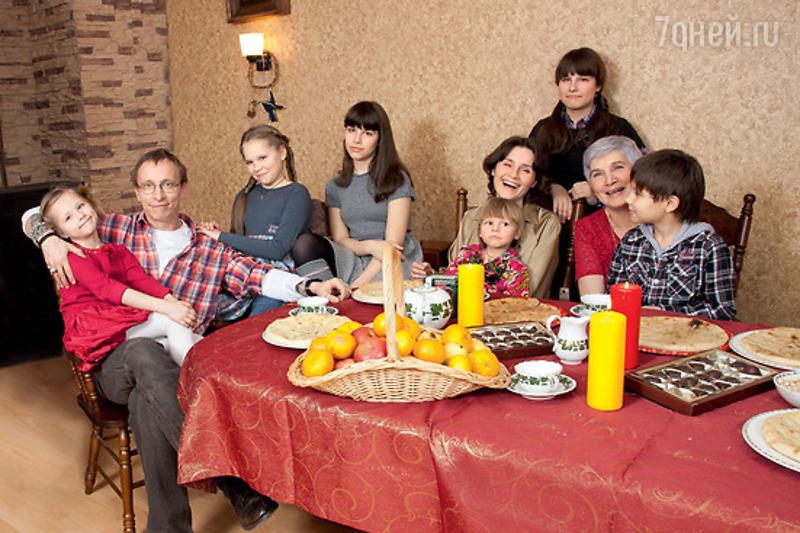 В семье Ивана Охлобыстина пополнение