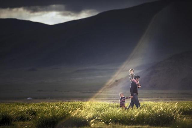 Семейный раÑÑвет (фото – Ðнупарб Папапан)