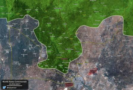 Террористы атакуют всирийской Хаме, ситуация становится угрожающей