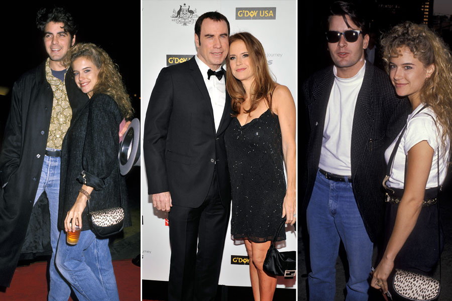 kelly preston sheen clooney travolta