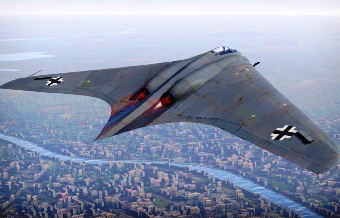 Автомобили: «Летающее крыло» - уникальный реактивный деревянный самолет Третьего Рейха, который мог изменить ход войны