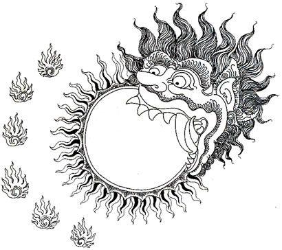 Раху и Кету змеиные планеты