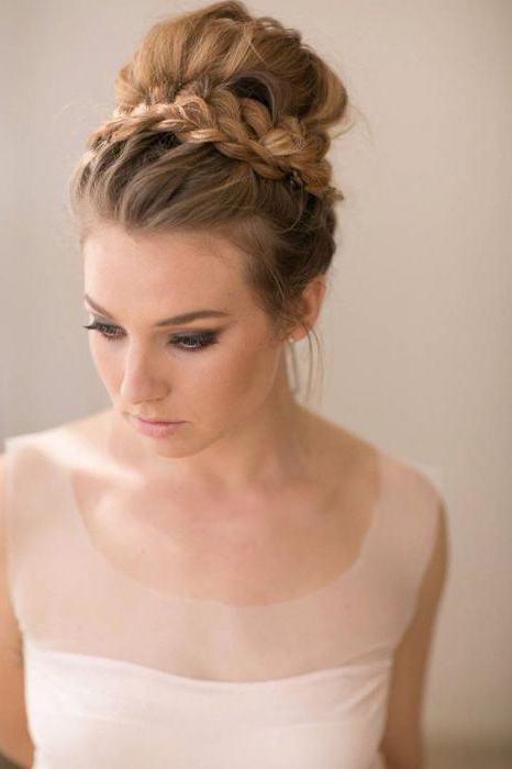 свадебные прически на волосы чуть ниже плеч
