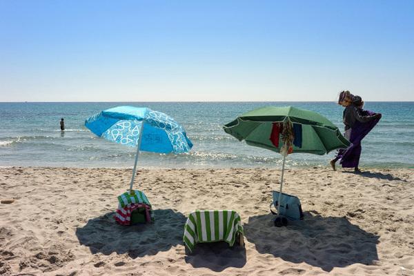 Пляжный беспредел