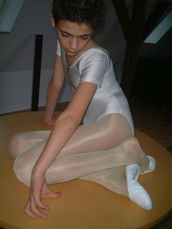 Everything, boys girls wearing pantyhose