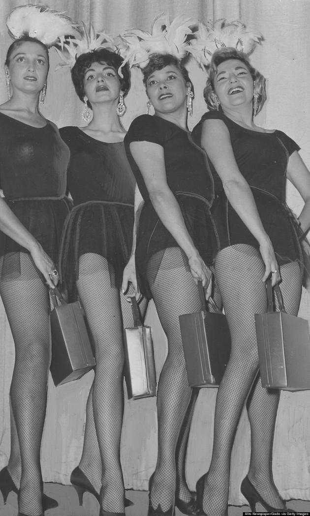 burlesque25 Краткая, но потрясающая история бурлеска в 1950 х годах
