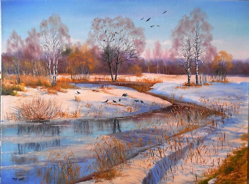 Невероятно прекрасные картины художника самоучки Тамары Масленик