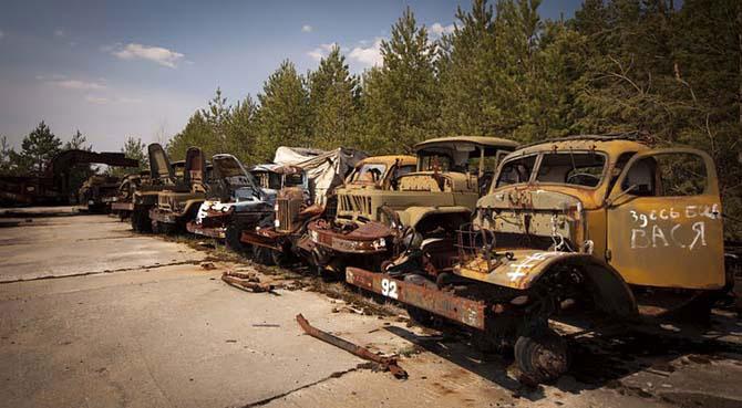 Два дня на мотоцикле в Чернобыльской Зоне