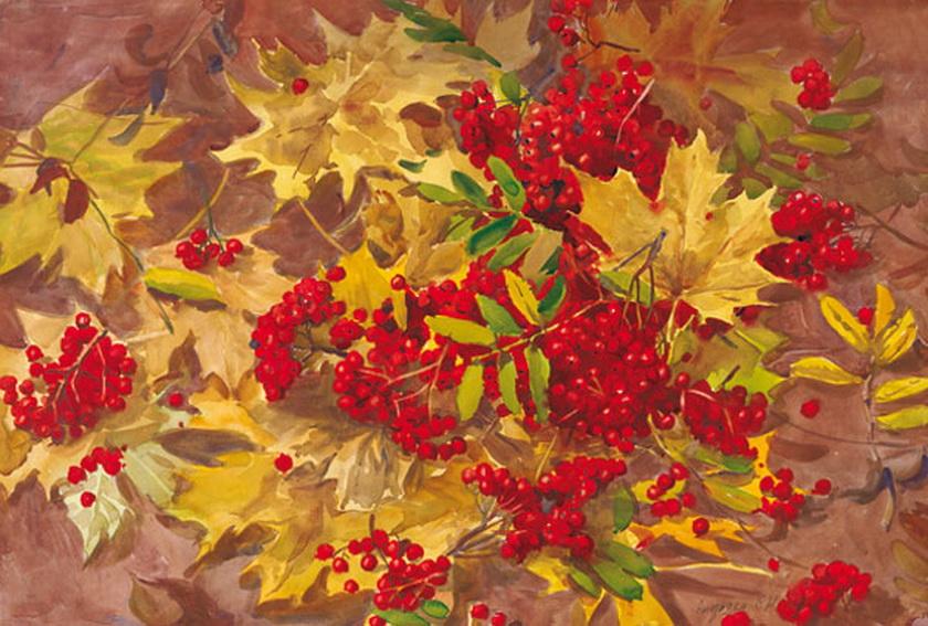 Вновь торжествует праздничная осень!