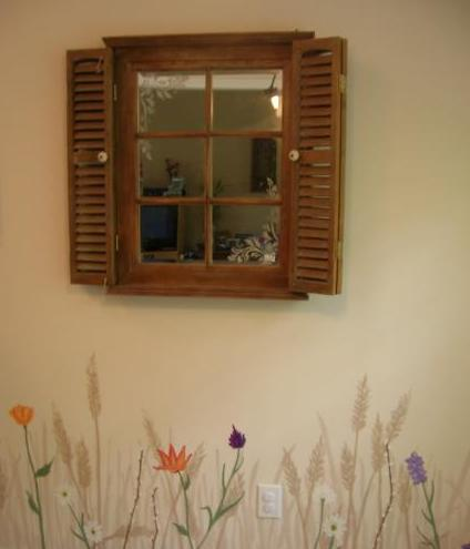 Окно декоративное