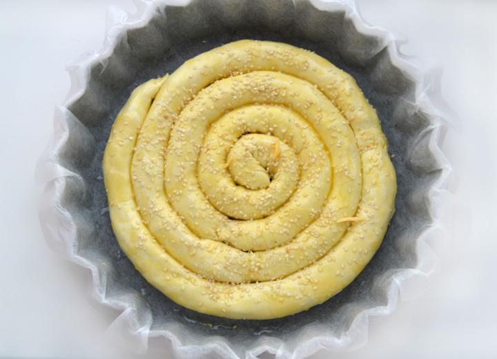 Слоеный пирог по-деревенски