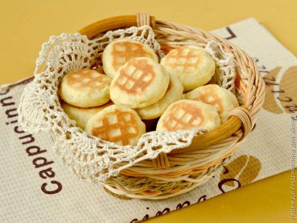 Бюджетное печенье на сковороде