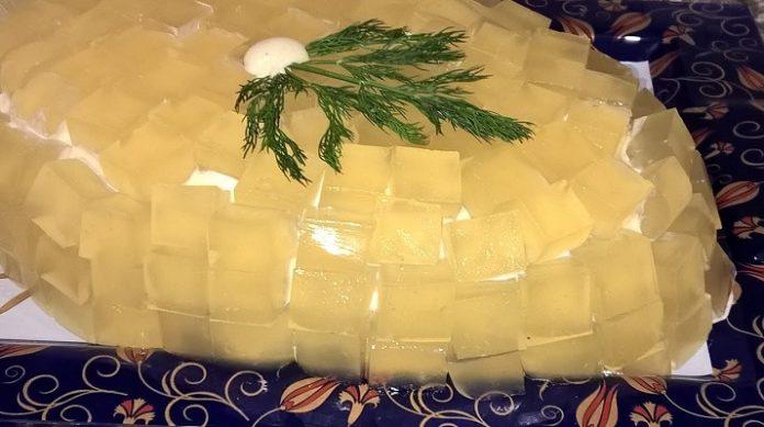Самый вкусный хрустальный салат