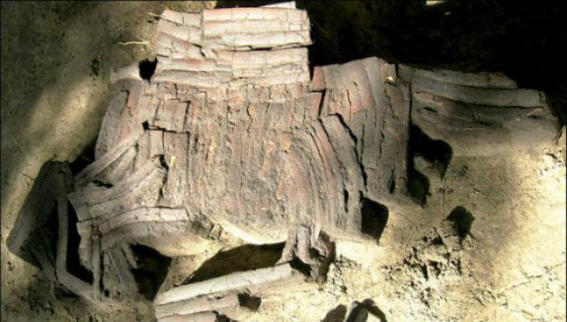 Броня из костей обнаружена на берегу Иртыша