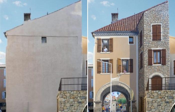Если во время работ владелец дома отсутствовал, то по приезду запросто может его не узнать (Patrick Commecy & A.Fresco). | Фото: a-fresco.com.