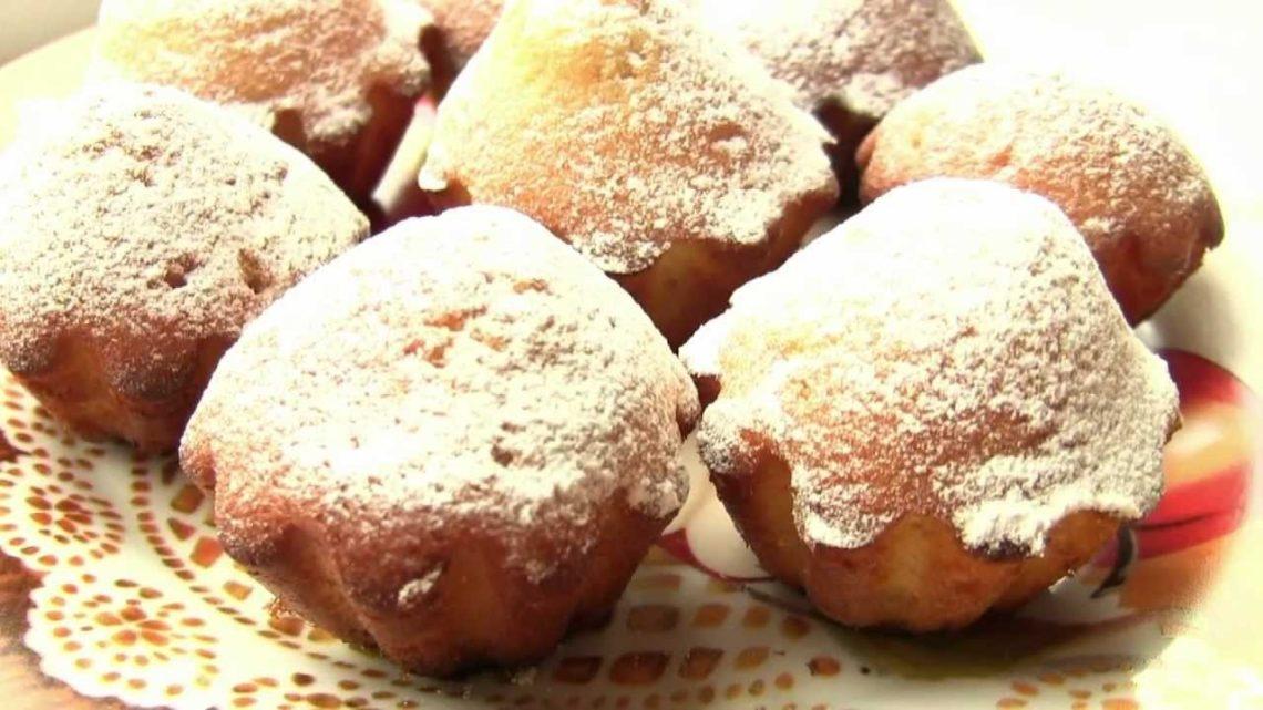 Самые простые и вкусные кексы на кефире