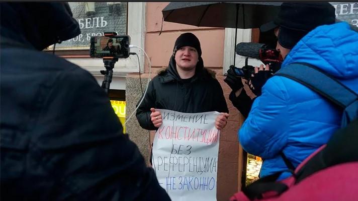 Россияне не поддержали проект Ходорковского «Скажи Конституции Нет»