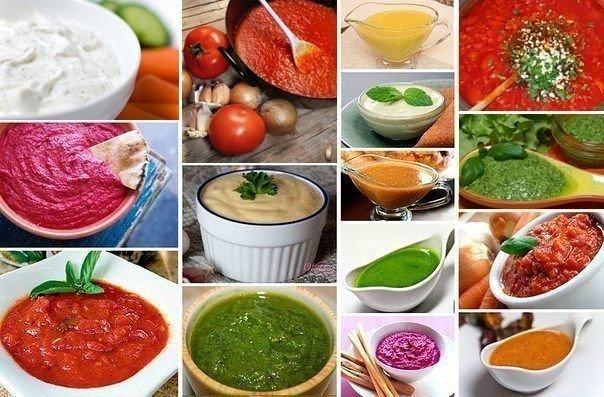 22 вида соусов на все случаи жизни.