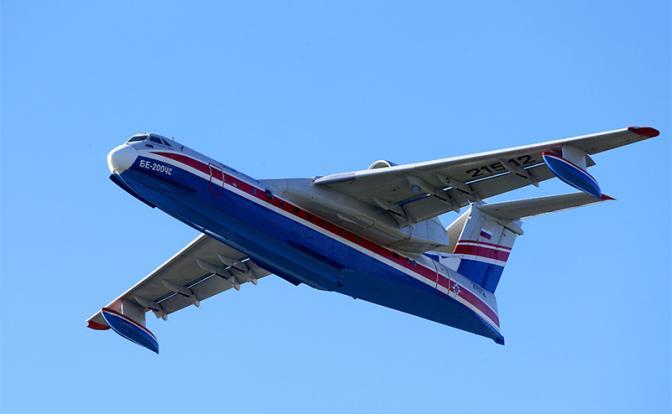 Самолет-амфибия: Россия прод…