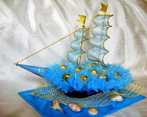 Корабли своими руками с конфетами