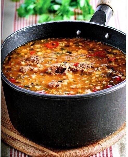 Острый суп «Харчо»