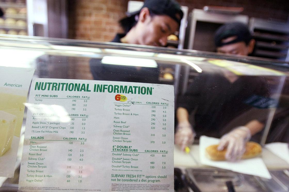 Restaurants Shave Calories Off New Menu Items