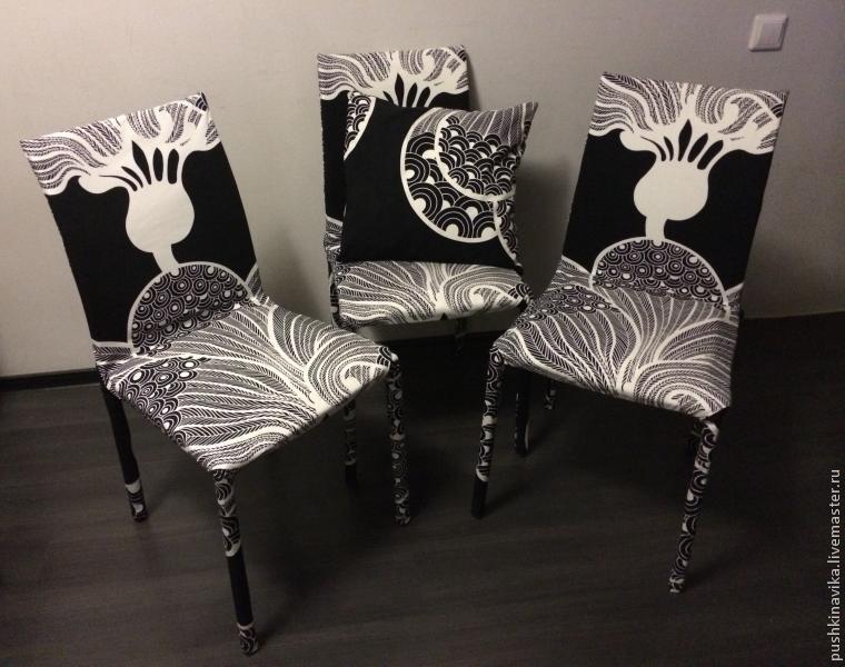 Преобразование стульев из старых в новые.