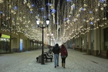 В Москве ударят морозы на Старый Новый год