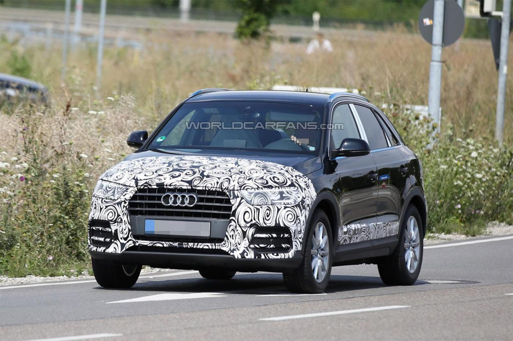 Audi обновит кроссовер Q3 к концу 2014 года