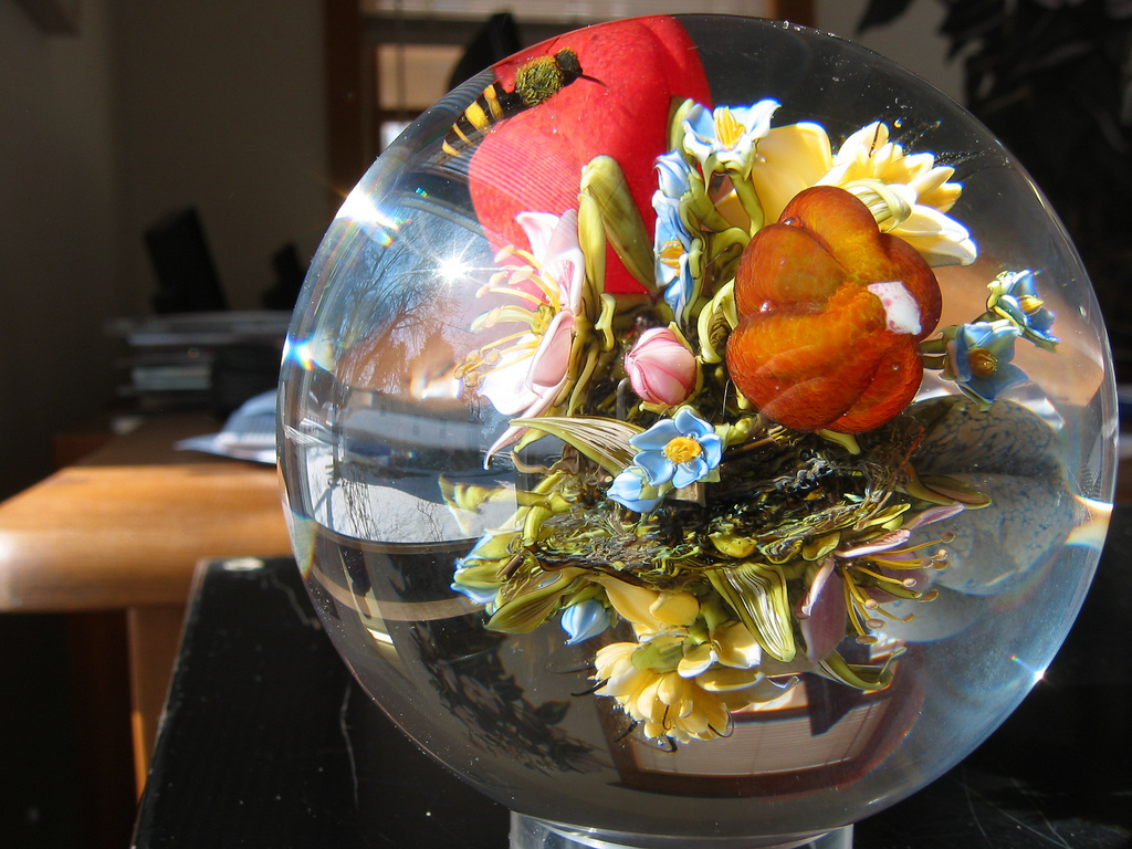Цветы в стекле Пола Стэнкарда