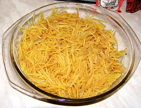Как приготовить картофель по- корейски